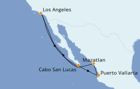 Itinerario de crucero Trasatlántico y Grande Viaje 2021 8 días a bordo del Norwegian Bliss