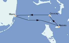 Itinerario de crucero Caribe del Este 4 días a bordo del Freedom of the Seas