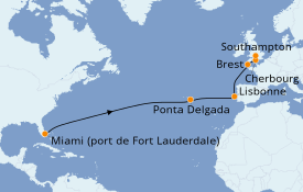 Itinerario de crucero Islas Canarias 15 días a bordo del Crown Princess