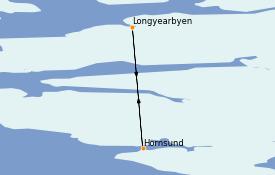 Itinerario de crucero Exploración polar 11 días a bordo del Le Commandant Charcot
