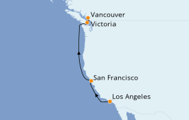 Itinerario de crucero Trasatlántico y Grande Viaje 2021 6 días a bordo del Norwegian Bliss