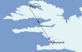 Itinerario de crucero Exploración polar 12 días a bordo del MS World Explorer