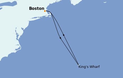 Itinerario del crucero Bahamas 7 días a bordo del Norwegian Pearl
