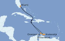 Itinerario de crucero Caribe del Este 9 días a bordo del Carnival Horizon