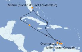 Itinerario de crucero Caribe del Este 10 días a bordo del Celebrity Silhouette