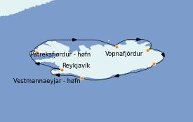 Itinerario de crucero Exploración polar 10 días a bordo del MS World Explorer