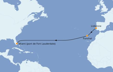 Itinerario del crucero Islas Canarias 11 días a bordo del Silver Spirit