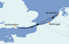 Itinerario de crucero Mar Báltico 5 días a bordo del Celebrity Silhouette