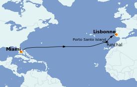 Itinerario de crucero Islas Canarias 14 días a bordo del Seabourn Quest