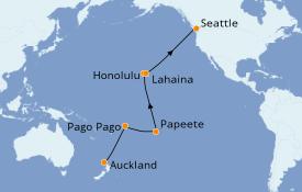 Itinerario de crucero Australia 2021 22 días a bordo del Regal Princess