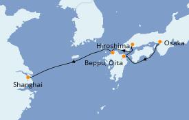 Itinerario de crucero Asia 8 días a bordo del Silver Spirit