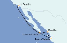 Itinerario de crucero Riviera Mexicana 9 días a bordo del Celebrity Millennium