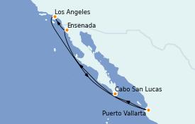 Itinerario de crucero Riviera Mexicana 8 días a bordo del Celebrity Millennium