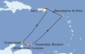 Itinerario de crucero Caribe del Este 8 días a bordo del Celebrity Summit