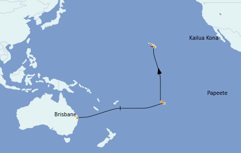 Itinerario del crucero Australia 2023 16 días a bordo del Quantum of the Seas