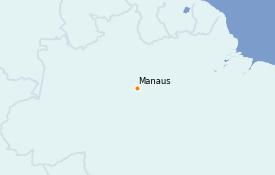 Itinerario de crucero Suramérica 11 días a bordo del Seabourn Venture