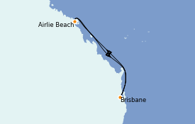 Itinerario de crucero Australia 2022 6 días a bordo del Quantum of the Seas