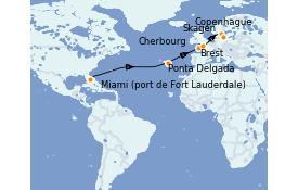Itinerario de crucero Mar Báltico 15 días a bordo del Enchanted Princess