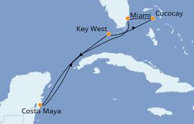 Itinerario de crucero Bahamas 7 días a bordo del Empress of the Seas