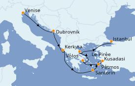 Itinerario de crucero Trasatlántico y Grande Viaje 2021 9 días a bordo del Norwegian Spirit