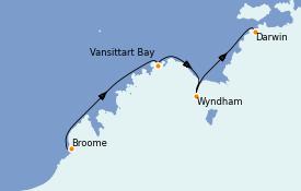 Itinerario de crucero Australia 2021 10 días a bordo del Silver Explorer