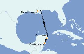 Itinerario de crucero Caribe del Oeste 6 días a bordo del Norwegian Breakaway
