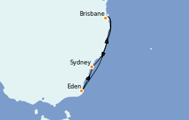 Itinerario de crucero Australia 2021 7 días a bordo del Quantum of the Seas