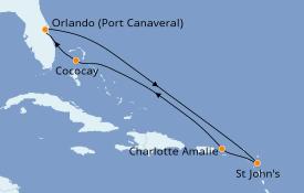 Itinerario de crucero Caribe del Este 8 días a bordo del Harmony of the Seas