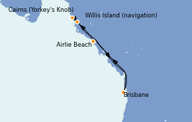 Itinerario de crucero Australia 2021 8 días a bordo del Quantum of the Seas