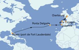 Itinerario de crucero Mediterráneo 16 días a bordo del Emerald Princess