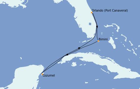 Itinerario del crucero Caribe del Este 5 días a bordo del Jewel of the Seas