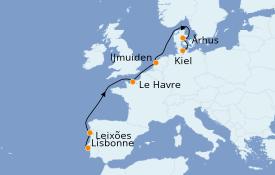 Itinerario de crucero Islas Canarias 8 días a bordo del Costa Favolosa