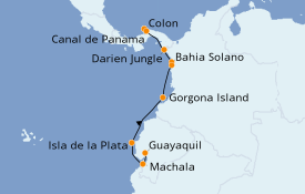 Itinerario de crucero Caribe del Este 9 días a bordo del Silver Explorer