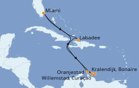 Itinerario de crucero Caribe del Este 10 días a bordo del Explorer of the Seas