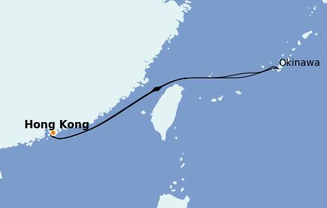 Itinerario del crucero Asia 5 días a bordo del Wonder of the Seas