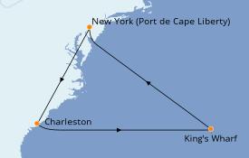 Itinerario de crucero Canadá 10 días a bordo del Celebrity Summit