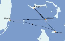 Itinerario de crucero Bahamas 5 días a bordo del Freedom of the Seas