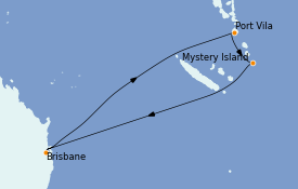 Itinerario de crucero Australia 2023 8 días a bordo del Quantum of the Seas