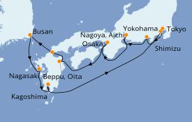 Itinerario de crucero Australia 2021 11 días a bordo del Norwegian Sun