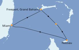 Itinerario de crucero Bahamas 5 días a bordo del Norwegian Joy