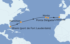 Itinerario de crucero Islas Canarias 15 días a bordo del Silver Dawn