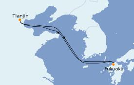 Itinerario de crucero Asia 5 días a bordo del Quantum of the Seas
