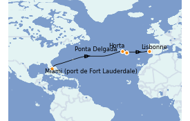 Itinerario de crucero Islas Canarias 13 días a bordo del Silver Moon