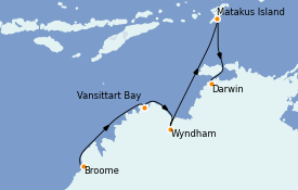 Itinerario de crucero Australia 2021 11 días a bordo del Silver Explorer