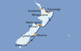 Itinerario de crucero Australia 2021 10 días a bordo del Le Bellot