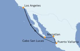Itinerario de crucero Riviera Mexicana 8 días a bordo del Norwegian Joy