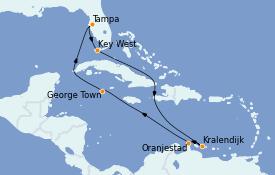 Itinerario de crucero Caribe del Este 12 días a bordo del Celebrity Constellation