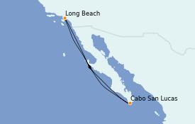 Itinerario de crucero Riviera Mexicana 6 días a bordo del Carnival Miracle