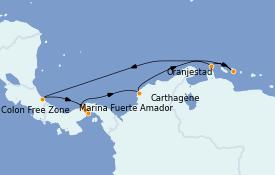 Itinerario de crucero Caribe del Este 10 días a bordo del Norwegian Jewel