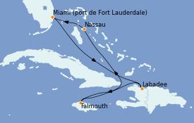 Itinerario de crucero Bahamas 7 días a bordo del Odyssey of the Seas